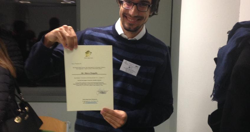 Marco Pangallo wins Herbert Simon Society Award